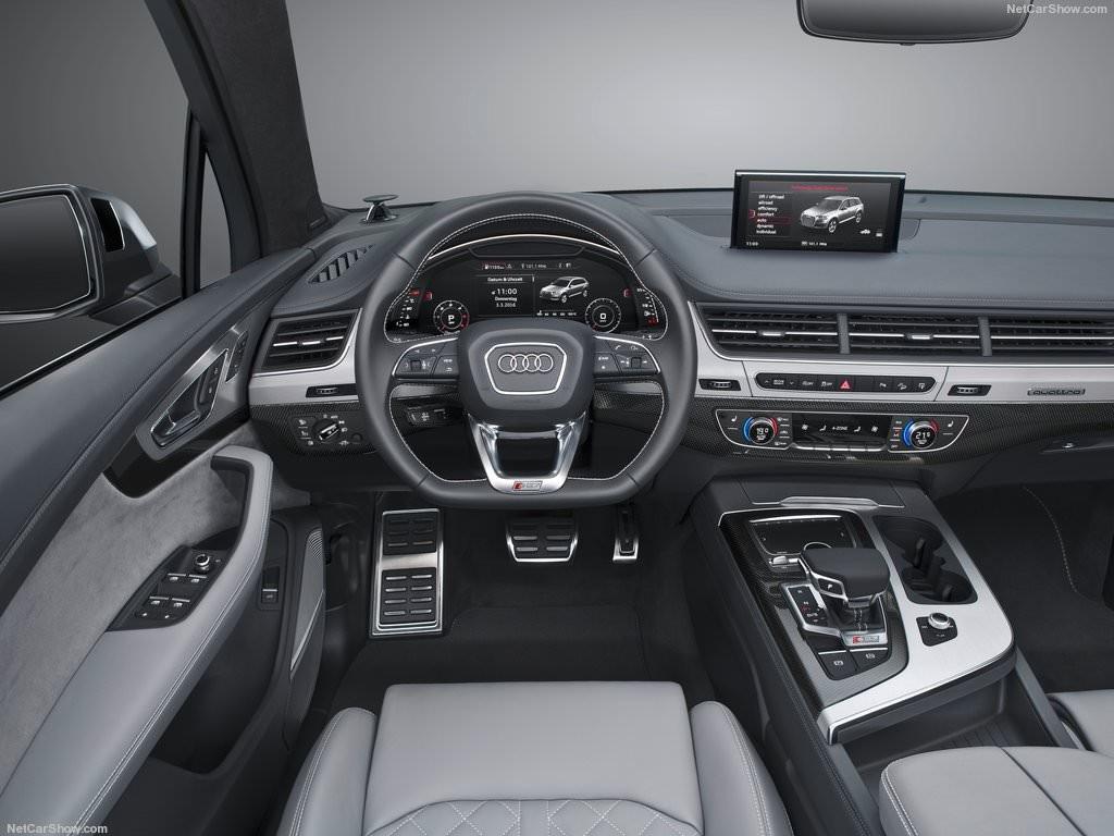 Audi SQ7 2017 Innenausstattung